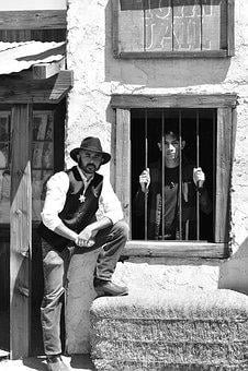 Cowboy, Western, Jail House, Wild, West