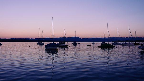 Lake, Boot, Sailing Boat, Ship