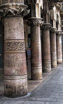 Columns, Roman, Architecture, Ancient, Building