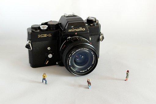 Miniature, Minolta, Camera, Light, Toys