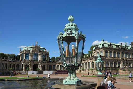 Dresden, Kennel, Baroque, Light