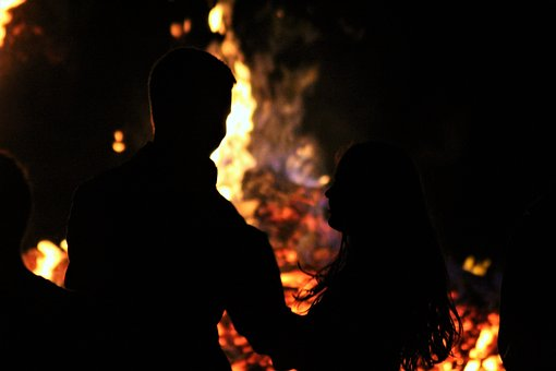 Fire, Love, Campfire, Romantic, Burn, Romance, Flame