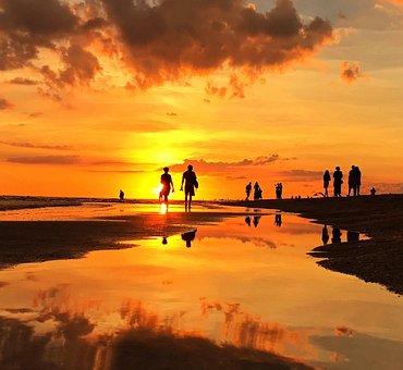 Florida, Sea, Afterglow