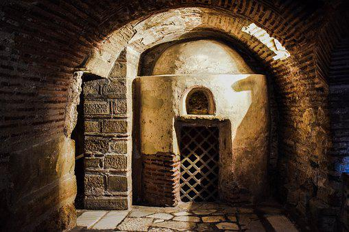 Catacomb, Ancient, Architecture, Greek, Historic