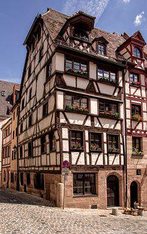 Nuremberg, Historically, Old Town, Middle Ages