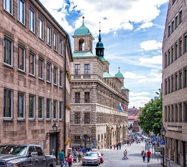 Mountain Road, Architecture, Nuremberg, Historically