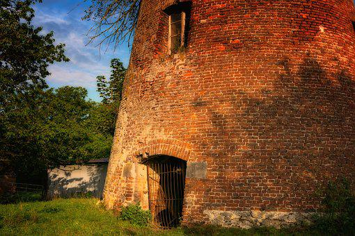 Tower, Masonry, Historically, Old, Building