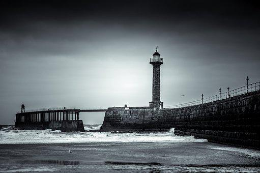 Whitby, Goth, Gothic, Dracula, West Pier, Pier