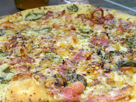 Pizza, Pizza Bianca, Gourmet, Rustic, Prosciutto, Speck