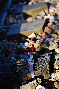 Train Tracks, Abandoned, Iron, Oxide, Old, Rusty