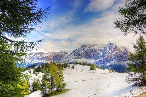 Dolomites, Alpine, Mountains, South Tyrol, Landscape