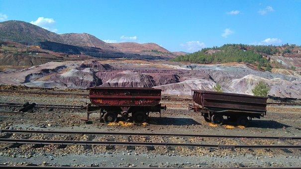 Old Wagons, Mines Riotinto, Huelva, Spain