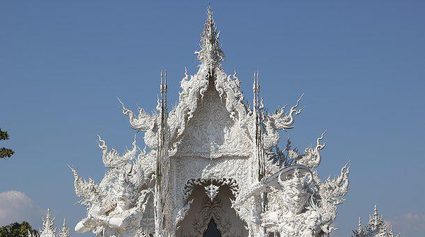 Measure, Wat Rong Khun, Thailand Temple