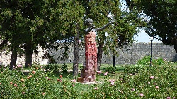 Vidin, Bulgaria, Fortress, Sculpture, Baba Vida