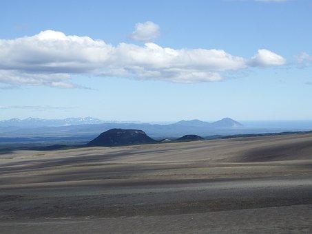Volcano, Mountains, Ridge, The Foot, Ravine, Canyon