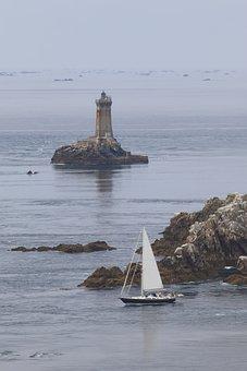 Point Du Raz, France, Brittany, Atlantic Coast, Coast