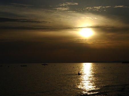 Dark, Sea, Seascape