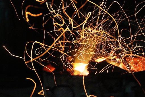 Light, Fire, Flame, Burn, Hot, Heat, Bright, Yellow