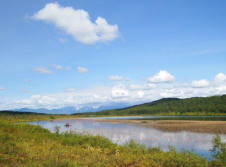 Lake, Forest, Mountains, Autumn, Reflection