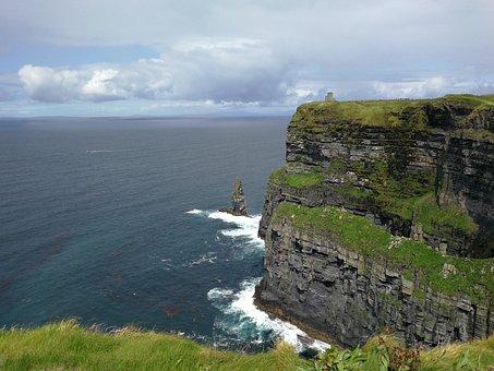 Ireland, Irish, Cliff, Moher, Cliffs, Nature