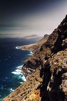 Cliffs, Sea, Kanarieörna