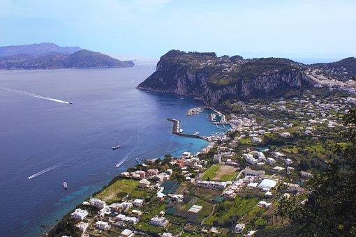Capri, Island, Italy, Travel, Landscape, Mediterranean
