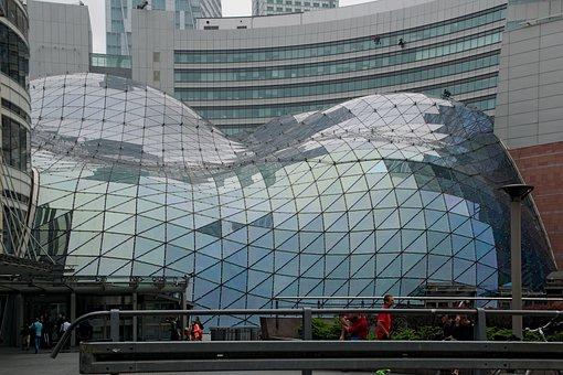 Building, Big City, Architecture, Poland