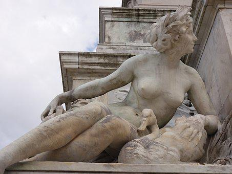 Sculpture, Quincunxes, Monument To The Girondins