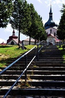 Church, Santini, Unesco, Star, Stairs