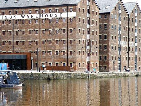 Warehouse, Quay, River