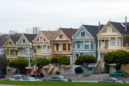 Painted Ladies, San Francisco, Architecture, Attraction