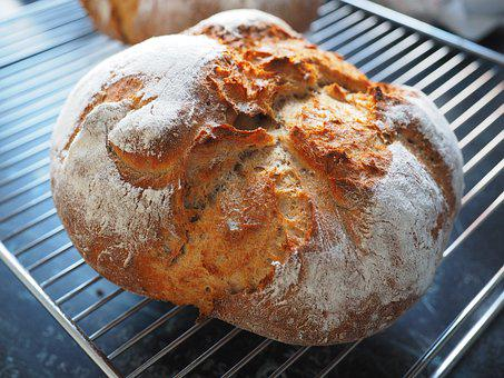 Bread, Bake Bread, Self-made, Bread Crust, Bake