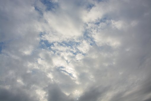 White Clouds, Cloud, Cloudy Sky, Atmosphere