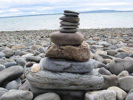 Rocks, Seascapes, Pebbles, Stasc, Ocean, Coastline