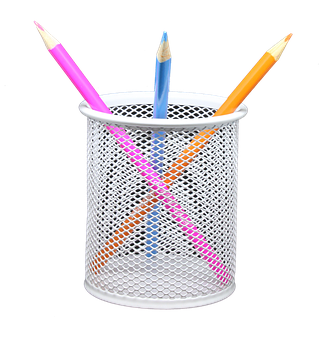 Pencil, Holder, Png, Coloured, Draw, Sketch, Art, Color