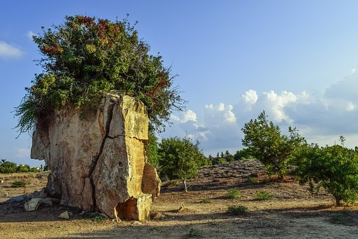 Cyprus, Paphos, Tombs Of The Kings, Archaeology