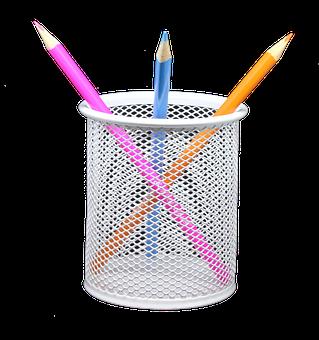 Pencil, Holder, Png, Coloured, Draw, Sketch, Art, Color