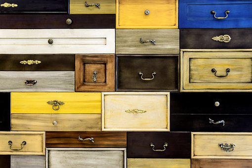 Drawers, Architecture, Interior, Home