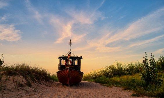 Germany, Island Of Usedom, Seebad Ahlbeck, Baltic Sea