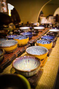 Porcelain, Kombucha Tea, Tea Set, Literature And Art