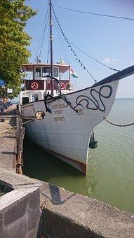Ship, Boot, Holiday, Lake Balaton, Hungary
