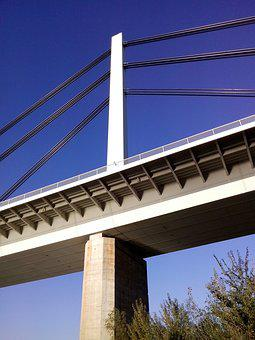 Bridge, River, Architecture, Landmark, Building