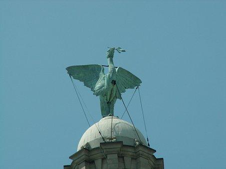 Liverbird, Liverpool, Landmark, Famous, Waterfront