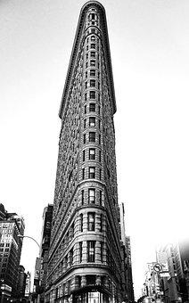 Flatiron Building, Ny, Nyc, New York, Usa, Manhattan