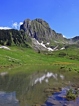 Mountain World, Bergsee, Alpine, Nature, Landscape