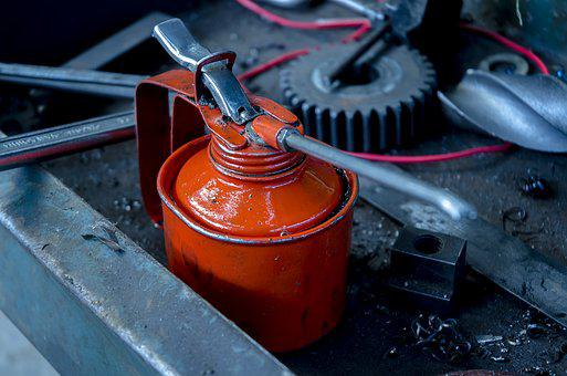 Industrial, Machine Oil, Oiling, Lubrication
