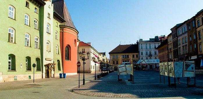 Poland, Europe, Architecture, Building, Old, Landmark
