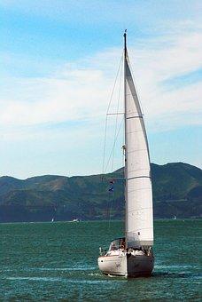 Sail, Sail Boat, Nautical