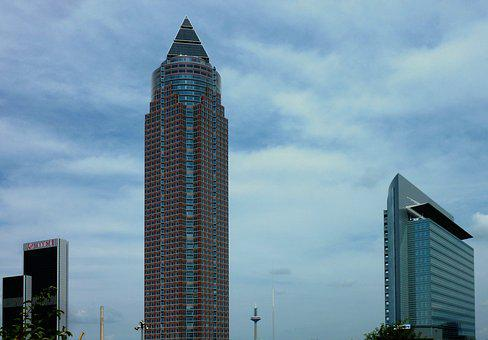 Frankfurt, Skyscraper, Skyline