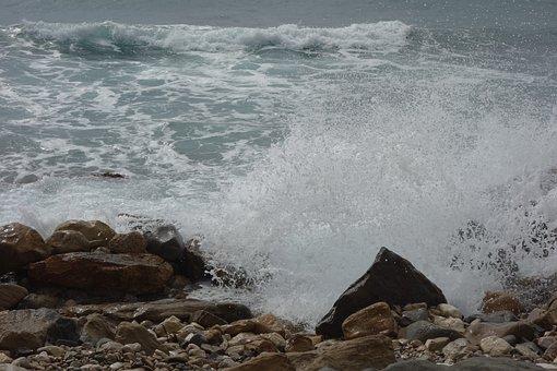 Holiday, Water, Wave, Sea, Spain, Calp, Beautiful, Lake